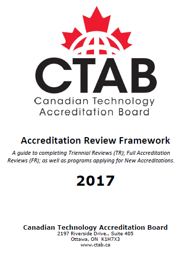 CTAB Accreditation Review Framework 2016